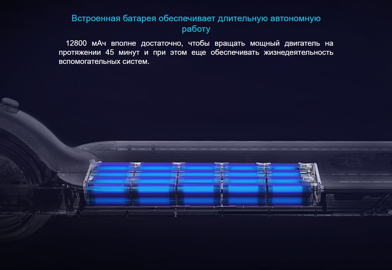 Умный электросамокат Xiaomi Mijia Electric Scooter Pro