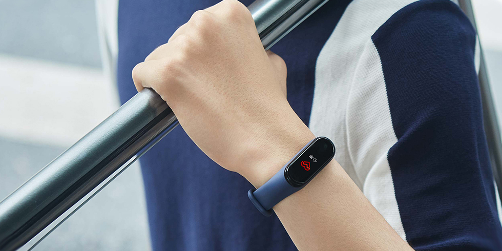 Фитнес браслет с пульсометром Xiaomi Mi Band 4