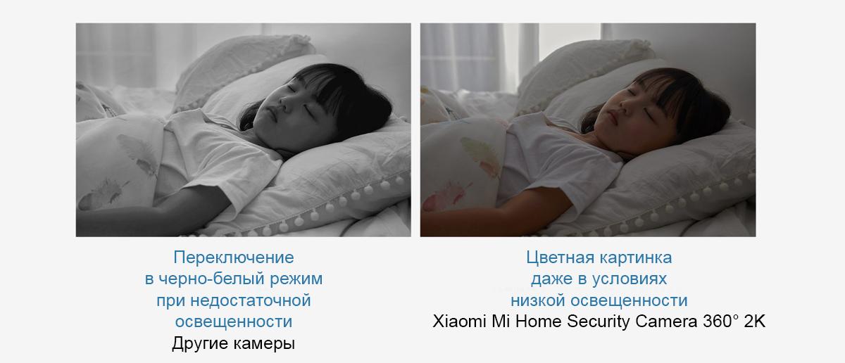 IP камера с панорамной съемкой Xiaomi Mi Home Security Camera 360° 2K (MJSXJ09CM)