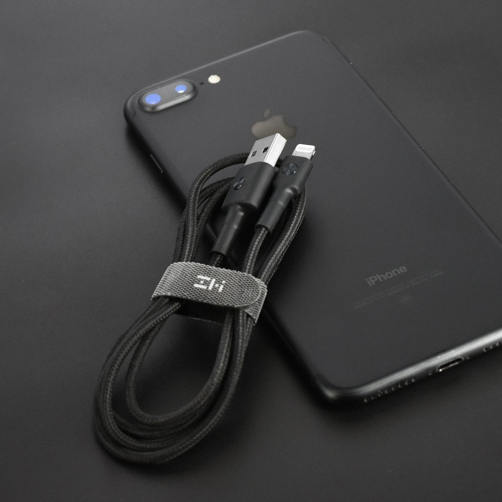 Кабель ZMI Lightning To USB-A Braided Cable