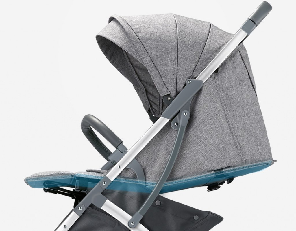 Детская коляска-трансформер Xiaomi Bebehoo Start Lightweight Four-wheeled Stroller (ST201)