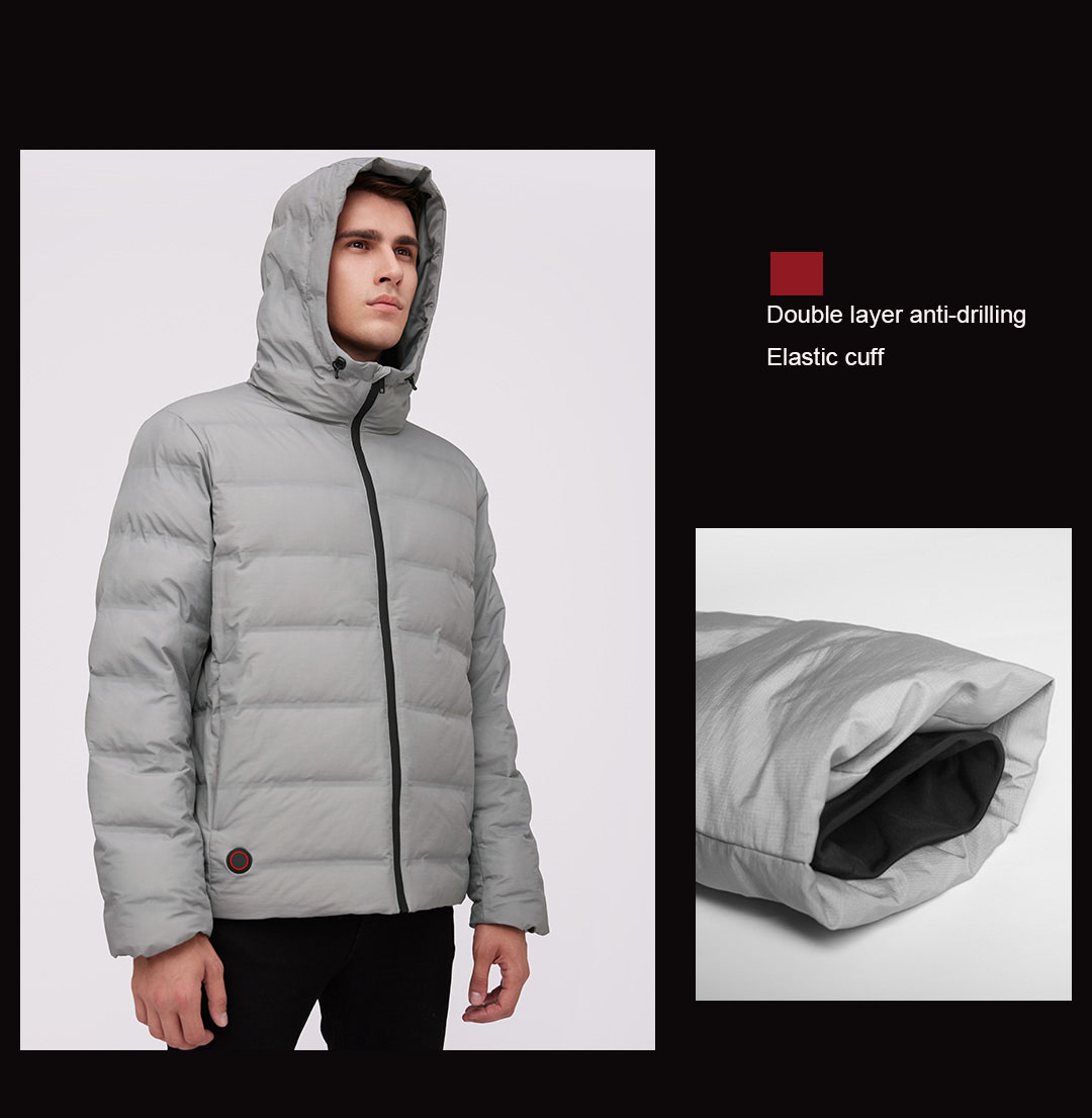 Куртка с подогревом Xiaomi Mijia Cotton Smith Graphene Temperature Control Down Jacket