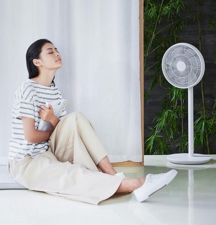 Напольный вентилятор Xiaomi Mi Smart DC Inverter Fan (ZhiMi)