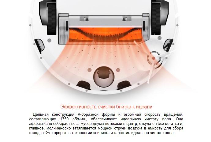 Сменная основная щётка для Xiaomi Mi Robot Vacuum Cleaner