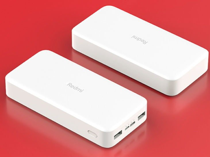 Портативное зарядное устройство Xiaomi Redmi Universal Power Bank 20.000 mAh