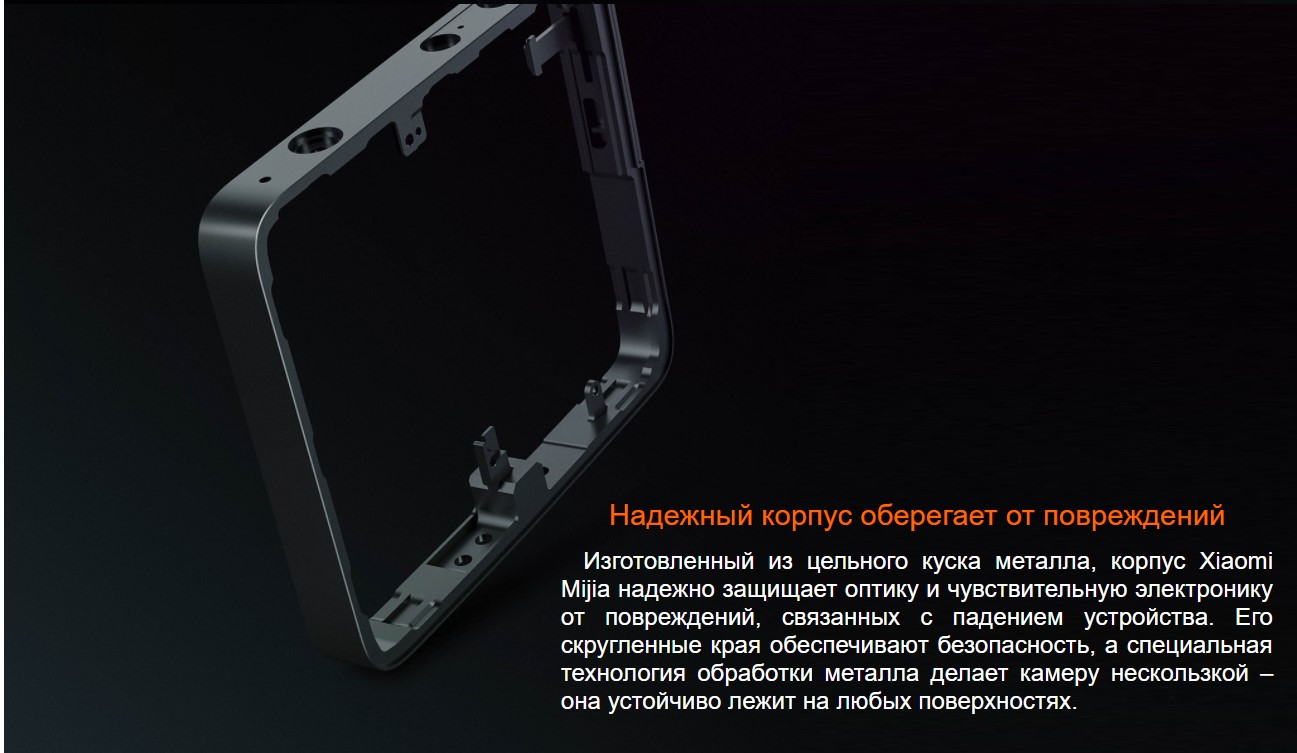 Сферическая экшен камера Xiaomi MiJia 360 Sphere Panoramic Camera