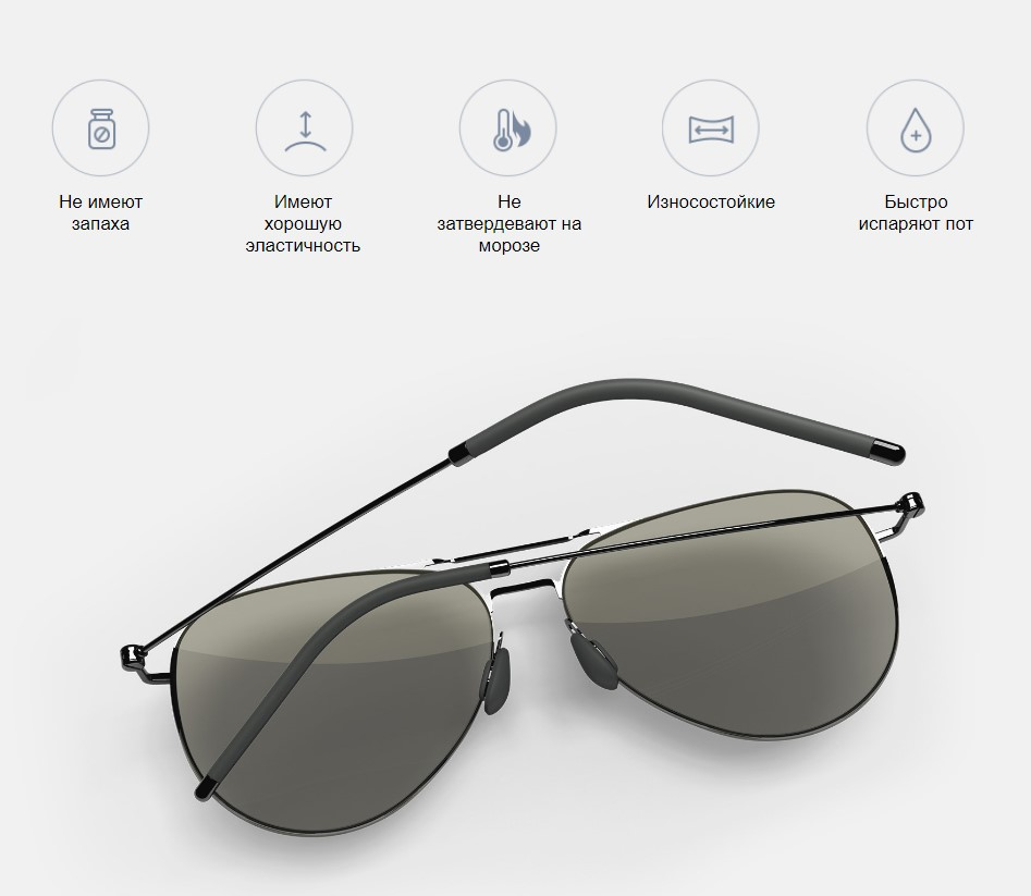 Солнечные очки авиаторы Xiaomi Turok Steinhardt TS Nylon Polarized Sunglasses