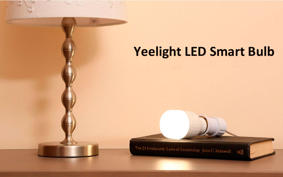 Умная лампа Xiaomi Yeelight LED Smart Bulb White E27
