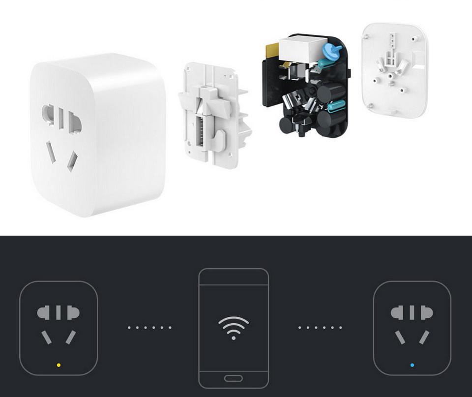 Умная розетка Xiaomi Mi Smart Socket Plug 2