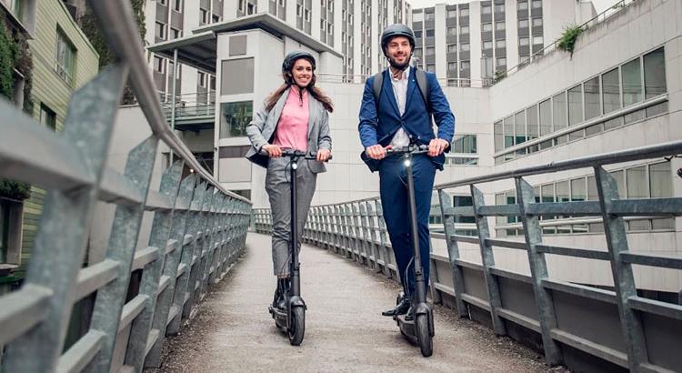 Умный электрический самокат Ninebot KickScooter MAX