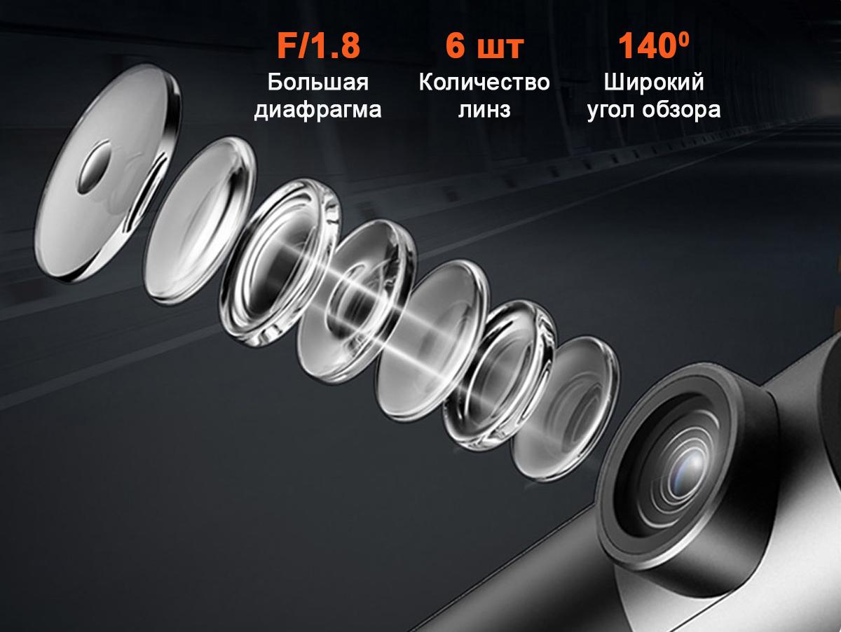 Видеорегистратор 70mai Dash Cam Pro Plus A500
