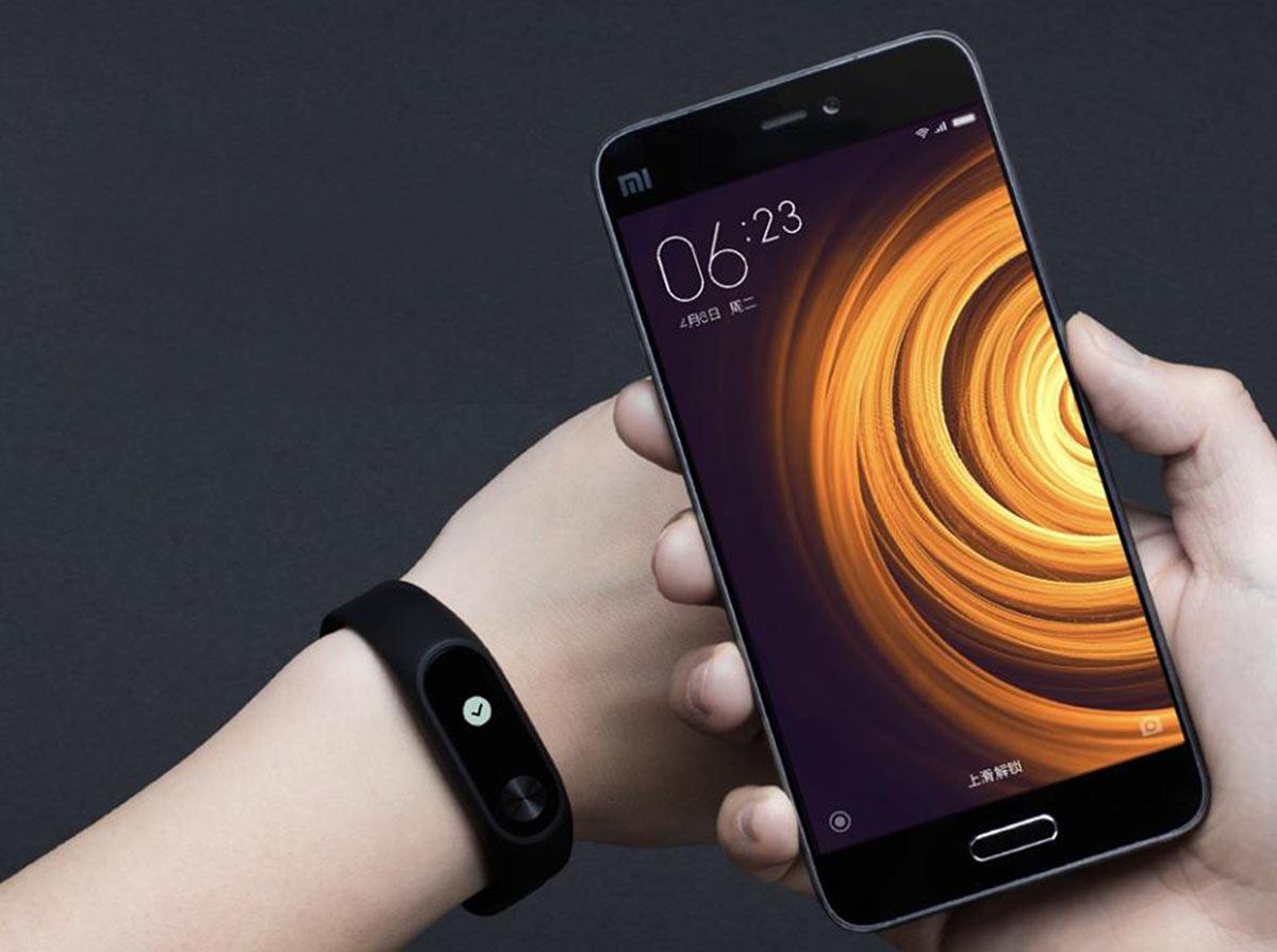 Фитнес браслет с пульсометром Xiaomi Mi Band 2
